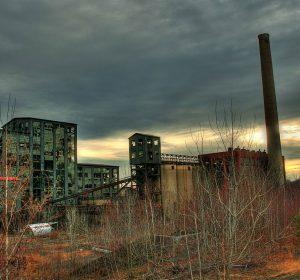 photo of Huber Breaker coal break for web development Tempesta Web Engineering, LLC.