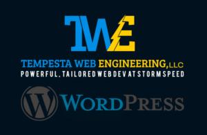 logo for Tempesta Web Engineering Fully Managed WordPress hosting